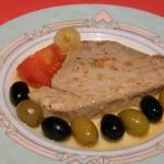 Pavé de thon aux olives