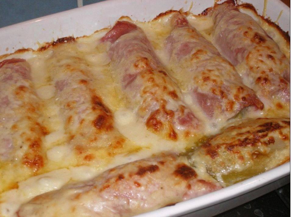 Gratin d 39 endives au jambon cuisine cal donienne - Recette endives au jambon ...